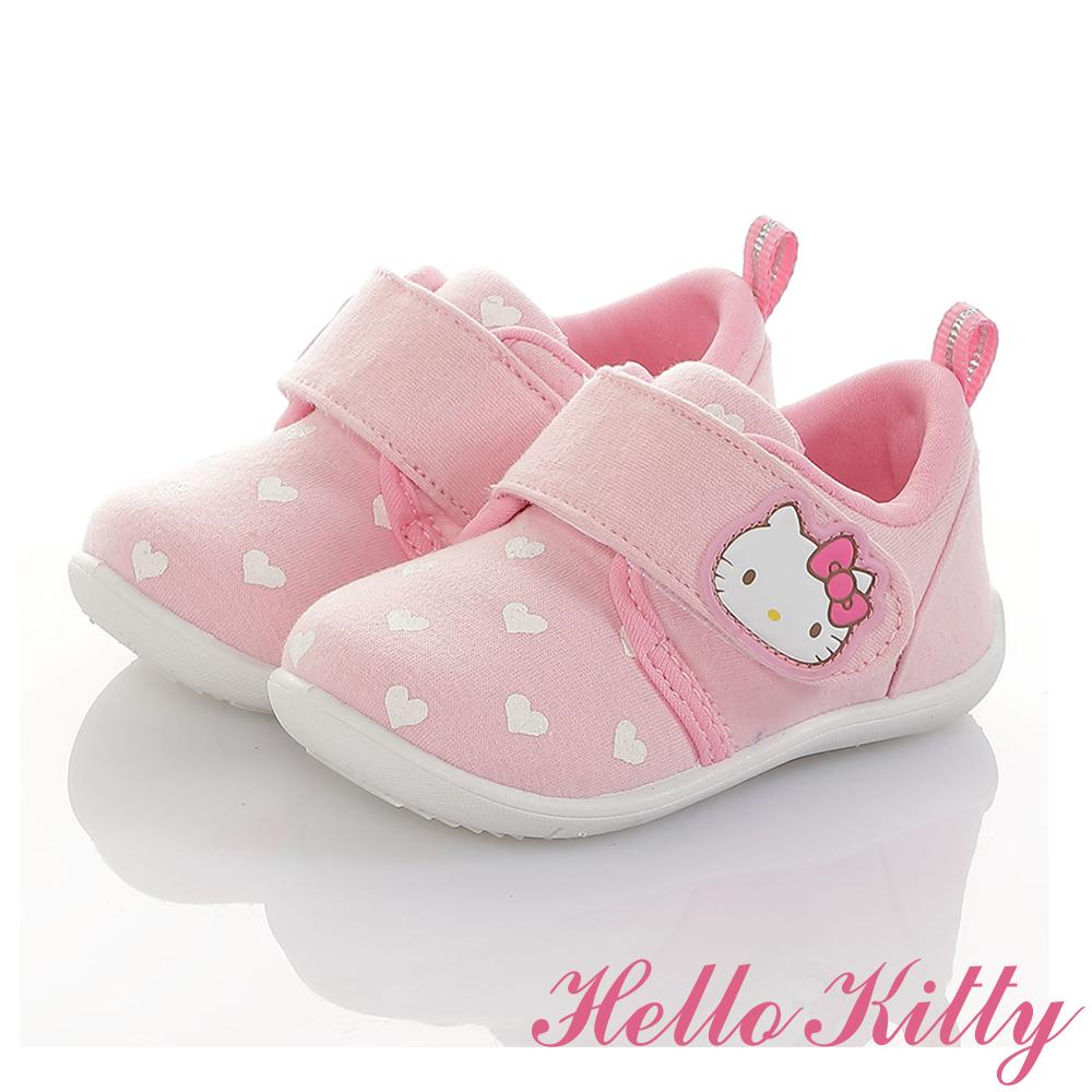 HelloKitty童鞋 全台獨家限量 柔軟減壓學步鞋-可室內-粉