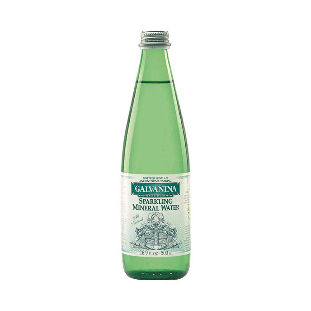 義大利Galvanina羅馬之源 天然氣泡礦泉水(500mlx20入)