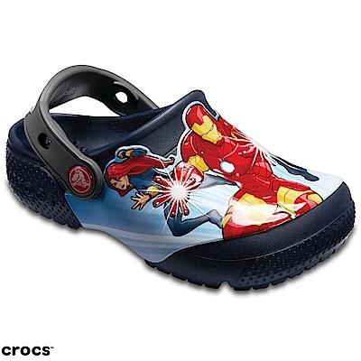 Crocs 卡駱馳 (童鞋) 復仇者聯盟克駱格 205120-410