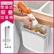 【日本Imakara】加厚懸掛式大容量收納伸縮摺疊垃圾桶-L尺寸(無印風廚房流理臺浴室衛浴) product thumbnail 1