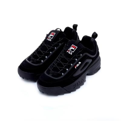 FILA DISRUPTOR 中性運動鞋-黑 4-C608T-001
