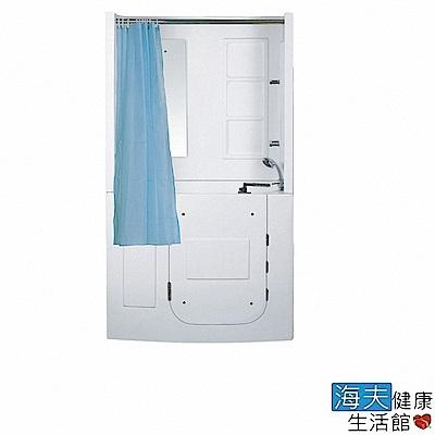 海夫健康生活館 開門式浴缸 108B-R 氣泡按摩款 (110*68*205cm)