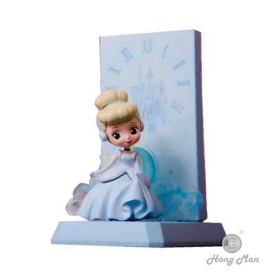 【Hong Man】迪士尼公主系列  灰姑娘小夜燈 手機無線充電座