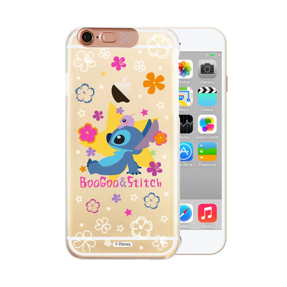 OpenBox Tiziani iPhone6/ 6S 可愛爆閃手機殼 - 星際花樣史迪奇