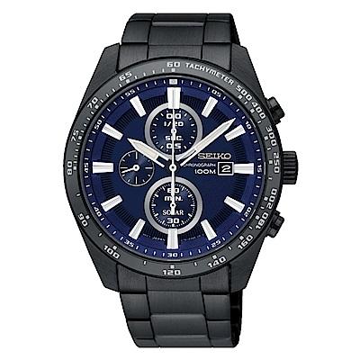 SEIKO 精工 CRITERIA登躍極致太陽能運動腕錶/SSC655P1/V176-0A