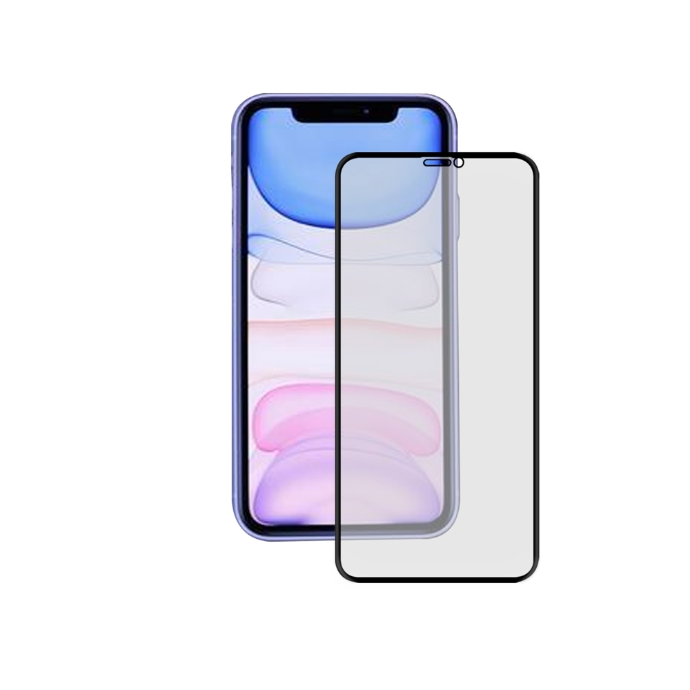 LUCCIDA Apple iPhone 11 霧面冷雕玻璃貼【3D滿版】