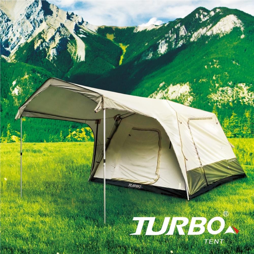 Turbo Tent Turbo Lite 300-一房一廳八人帳篷(30秒專利快速帳)
