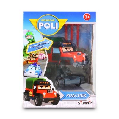 救援小英雄 POLI -  4吋變形波契