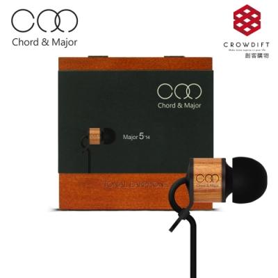 【Chord & Major】Major 5'14 世界音樂調性木質入耳式耳機