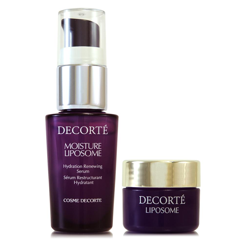 COSME DECORTE黛珂 保濕美容液15ml+保濕賦活精華霜12.5g