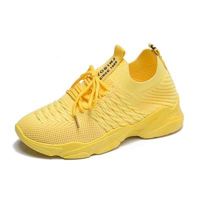 韓國KW美鞋館-極限運動輕量跑步鞋-黃色