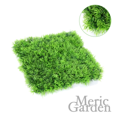 【Meric Garden】超仿真休閒武竹草草皮地 (26*26*5CM)