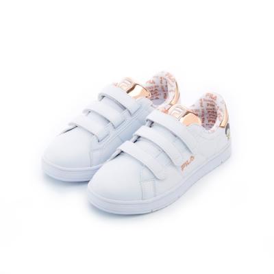FILA 中性潮流復古鞋-金色 <b>5</b>-C618T-800