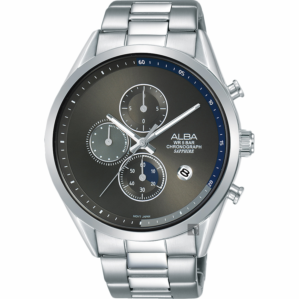 ALBA 雅柏 Tokyo Design 原創計時手錶(AM3595X1)-44mm