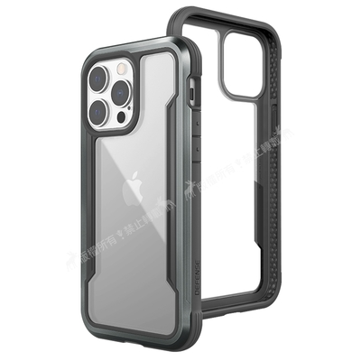 DEFENSE 刀鋒極盾Ⅲ iPhone 13 Pro Max 6.7吋 耐撞擊防摔手機殼(爵帝黑)