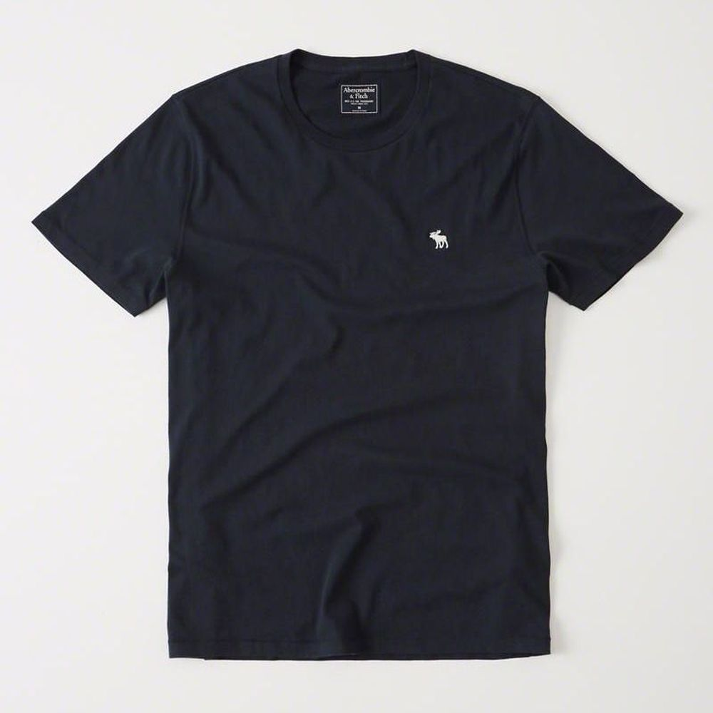 AF a&f Abercrombie & Fitch 短袖 T恤 藍 0840