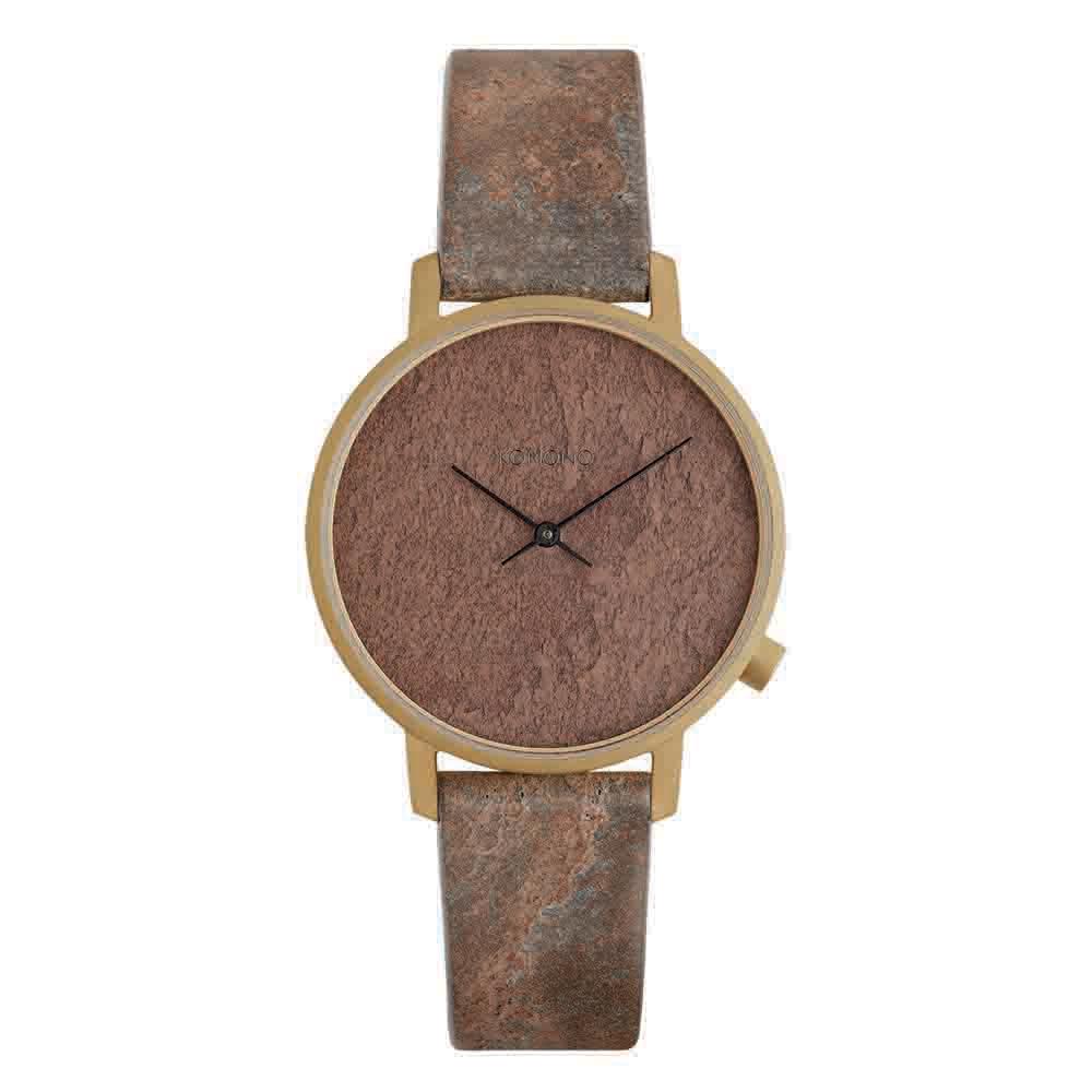 KOMONO Harlow 腕錶-珊瑚紅/36mm