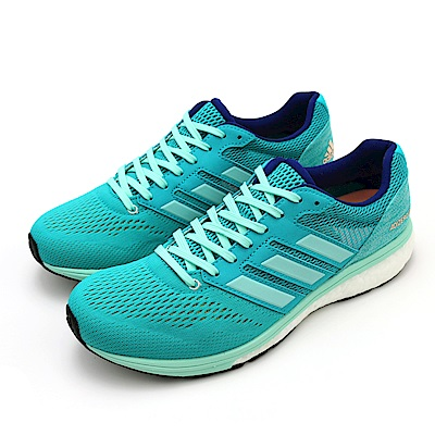 ADIDAS-ADIZERO BOSTON 7女慢跑鞋-藍