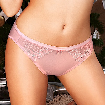 黛安芬-水感動魔術系列低腰內褲M-EL 青春粉紅