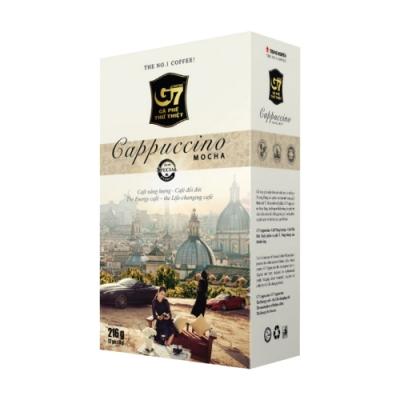G7卡布奇諾-摩卡風味18gx12包