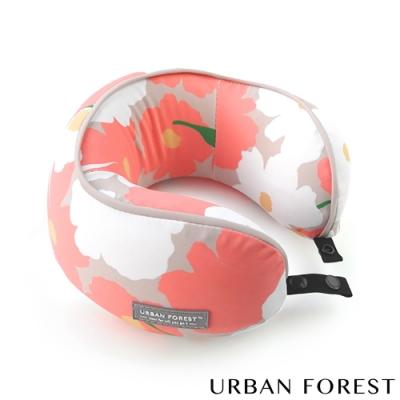 URBAN FOREST都市之森 花卷-兒童頸枕/午睡枕 虞美人