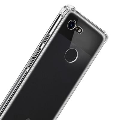 GOOGLE Pixel 3 透明 防摔四角氣囊手機殼
