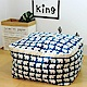 【收納職人】衣物棉被大容量防水防塵袋收納袋收納箱50L(藍底小白熊) product thumbnail 1