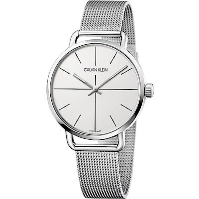 Calvin Klein K7B even 超然時尚腕錶(K7B21126)白42mm