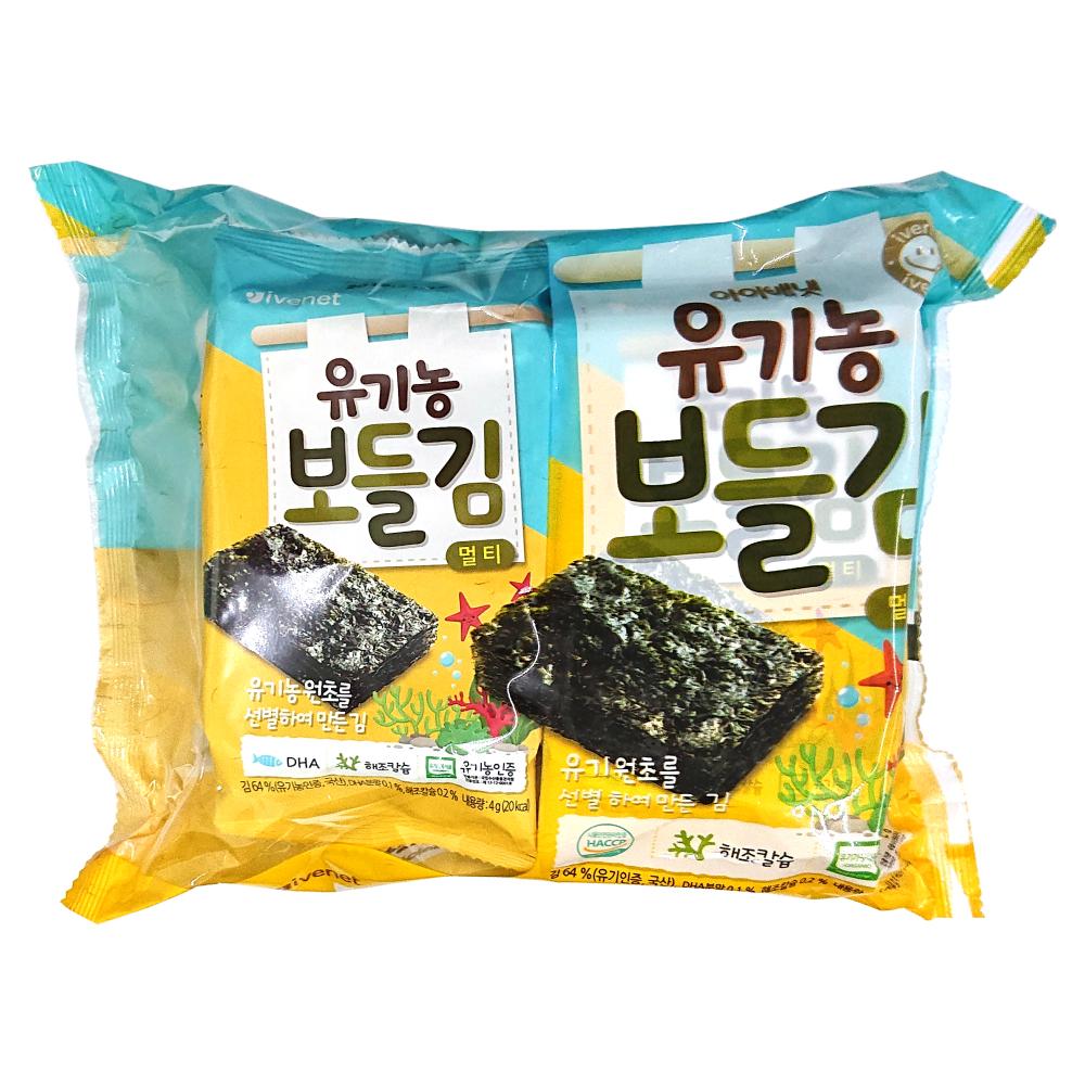(即期品) 韓國 ivenet 艾唯倪  寶寶DHA海苔