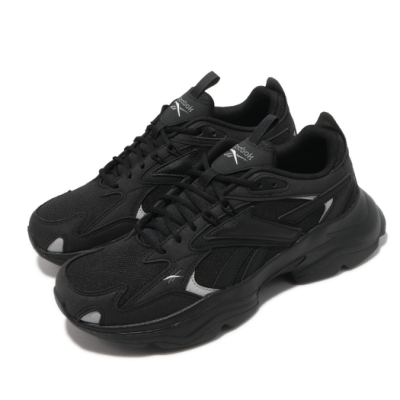 Reebok 休閒鞋 Royal Bridge 4 運動 男女鞋 復古 舒適 簡約 厚底 球鞋 情侶穿搭 黑 白 GV7138