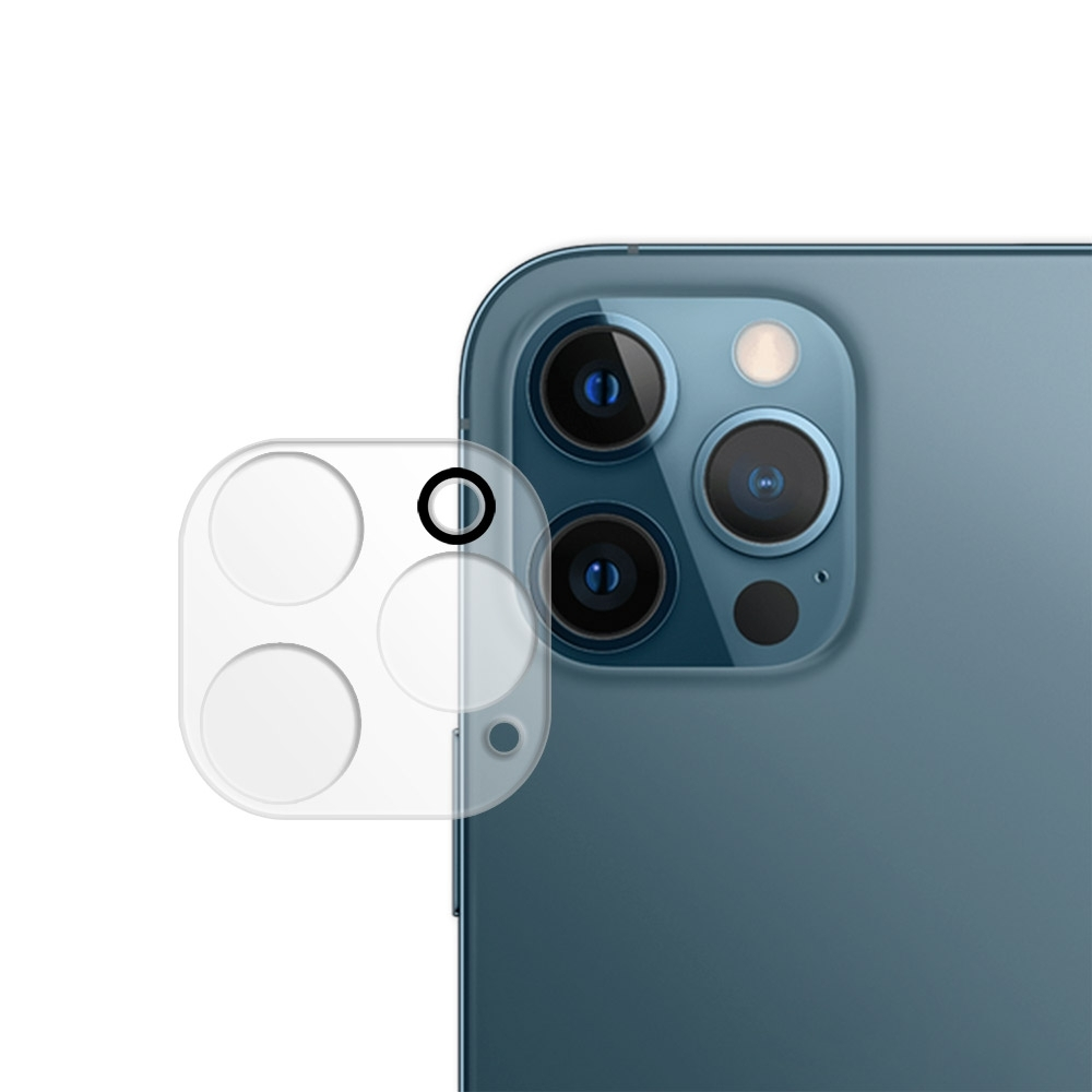 Metal-Slim Apple iPhone 12 Pro Max 3D全包覆鋼化玻璃鏡頭貼