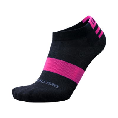 【2PIR】銀纖維抗菌除臭運動襪 超值三入組 漾粉