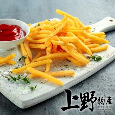上野物產-美式金黃酥脆薯條 (500g±10%/包) x10
