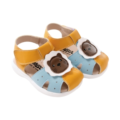 魔法Baby手工寶寶鞋 台灣製專櫃款幼兒手工涼鞋sk1036