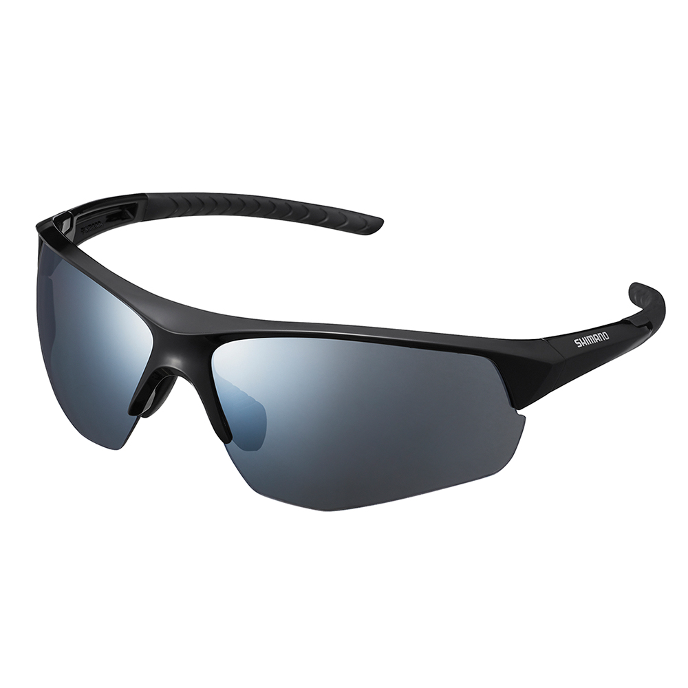 【SHIMANO】TWINSPARK 太陽眼鏡 黑色鏡框(銀色煙燻鏡面鏡片)
