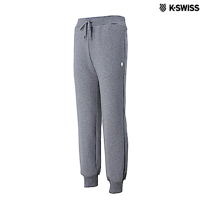 K-Swiss KS Sweatpants保暖運動長褲-男-灰