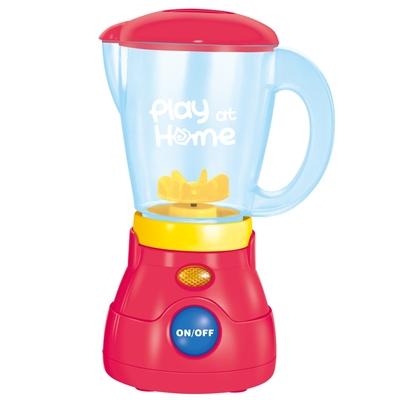 《Play at home》家家酒玩具廚房造型配件電動果汁機