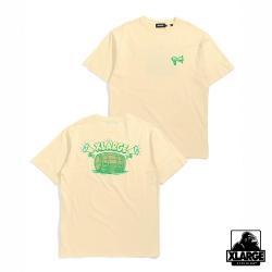 XLARGE S/S TEE SPEAKER短袖T恤-黃