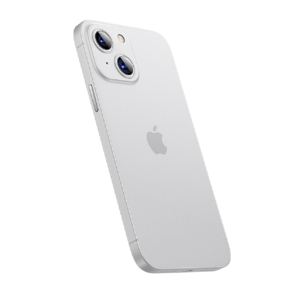 Benks iPhone13  (6.1) Lollipop 0.4mm超薄磨砂保護殼-透白