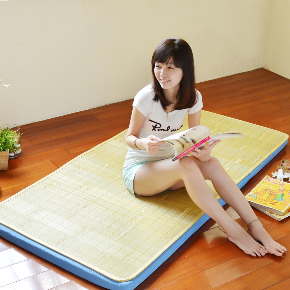 LooCa 美國抗菌5cm大青冬夏兩用床墊-單人 product image 1