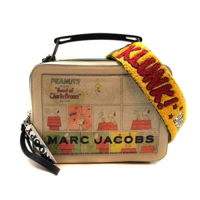 MARC JACOBS the box 23 SNOOPY聯名款 兩用包附限量背帶
