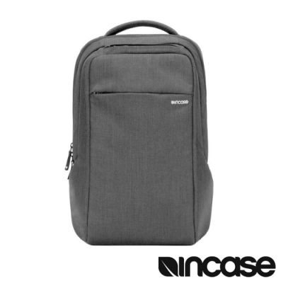 Incase ICON Slim with Woolenex 15 吋電腦後背包-瀝青灰