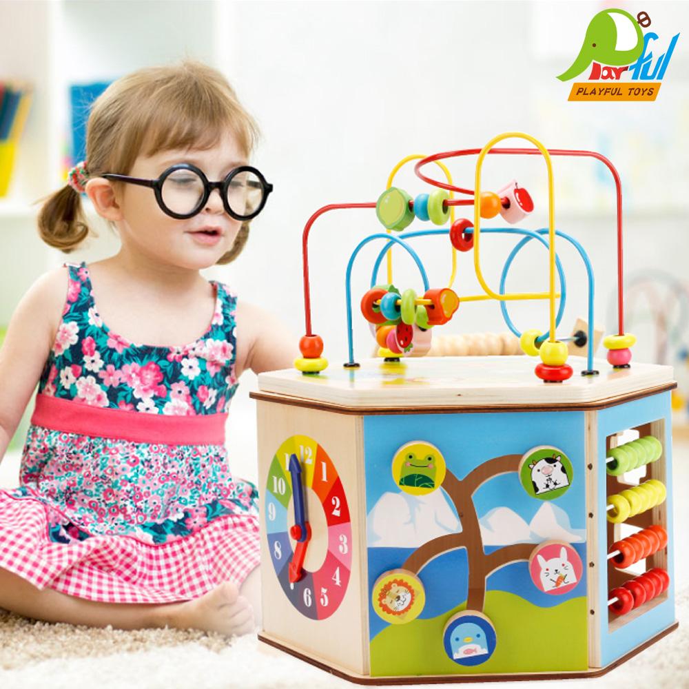 【Playful Toys 頑玩具】木製大繞珠