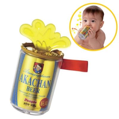 日本People-金色啤酒咬舔玩具(6m+)(2020新款/固齒器/咬舔玩具/安撫玩具)