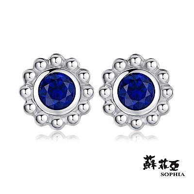 蘇菲亞SOPHIA 寶石耳環 - 勿忘我藍寶石耳環