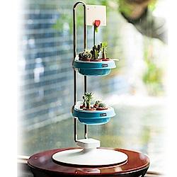 My Garden療癒植物容器 多肉精靈系列/盆栽調整架/高-DY603