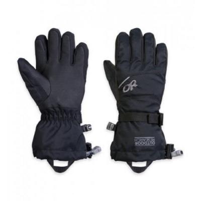 Outdoor Research 孩童防水化纖保暖手套 黑