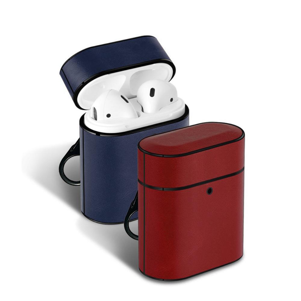 AirPods 1/2 代通用款 簡約素色 藍牙耳機 保護套 product image 1