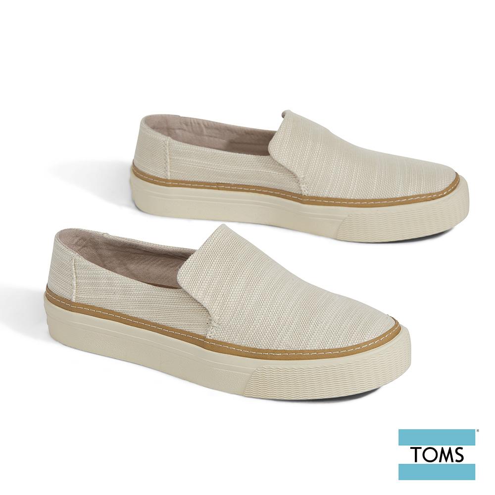 TOMS  織紋帆布休閒鞋-女款