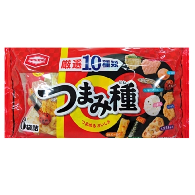 龜田製果 十種綜合米果(129.6g)